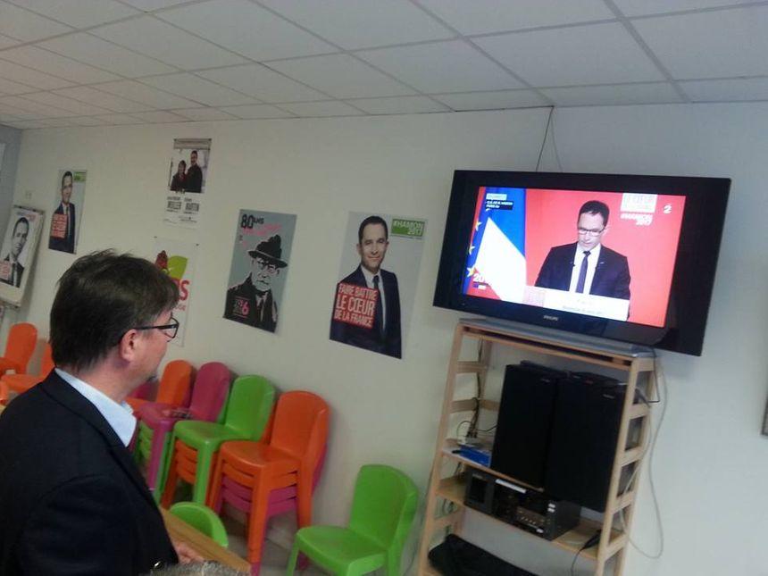 Déception pour Christophe Martin, conseiller départemental socialiste, face au naufrage du PS
