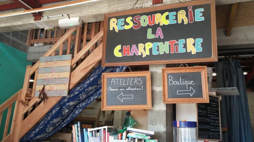 La ressourcerie La Charpentière, à Tours
