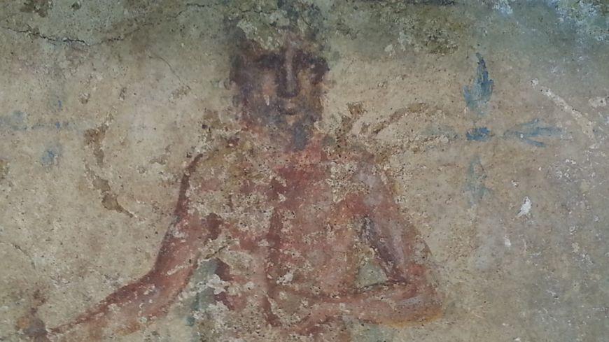 La peinture date du deuxième ou du troisième siècle après Jésus-Christ