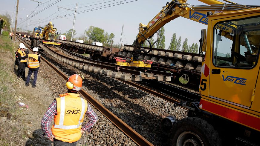 travaux SNCF (illustration)