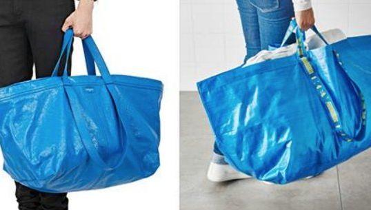 9d6077cce8 Ikea tourne en dérision la ressemblance de son cabas avec un sac de luxe,  et se fait de la pub au passage