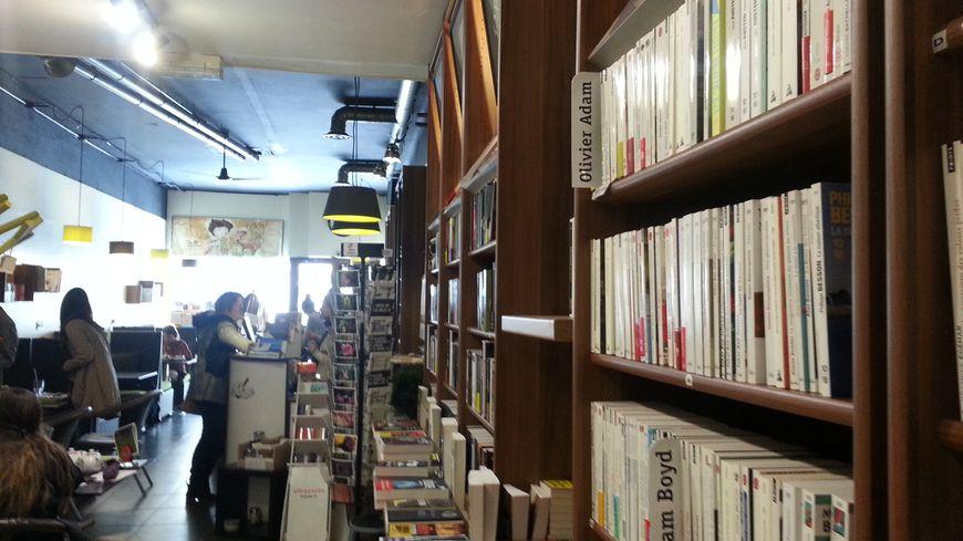 Librairie-café à Nancy