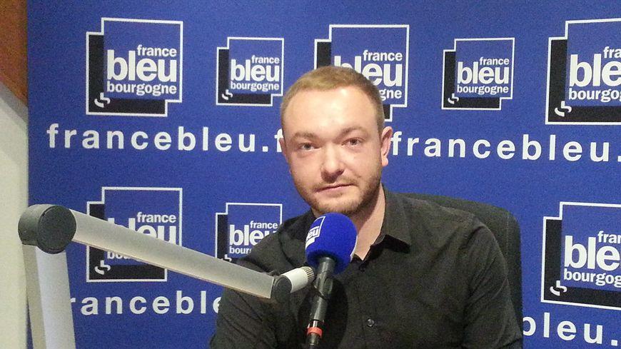 Alexandre Emorine est le porte parole de la France Insoumise en Côte-d'Or