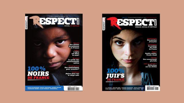 Une série de Une de Respect Magazine avait fait polémique