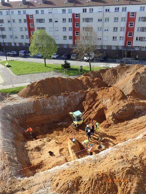 les nouvelles fouilles de Moulin Quignon