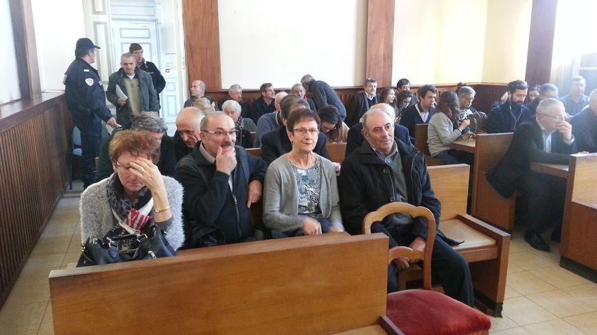 Le Landais (à droite), lors de son procès en février dernier.