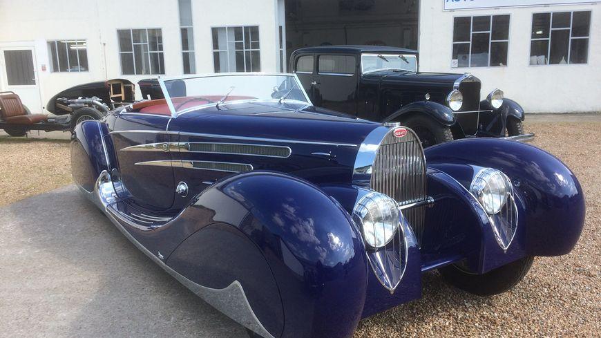 La voiture du Shah