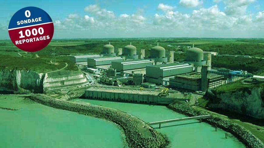 La centrale nucléaire de Paluel est l'un des plus gros employeurs de Seine-Maritime.