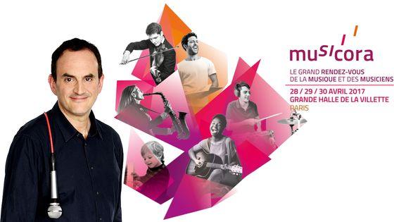 Laurent Valière, en direct et en public à Musicora 2017