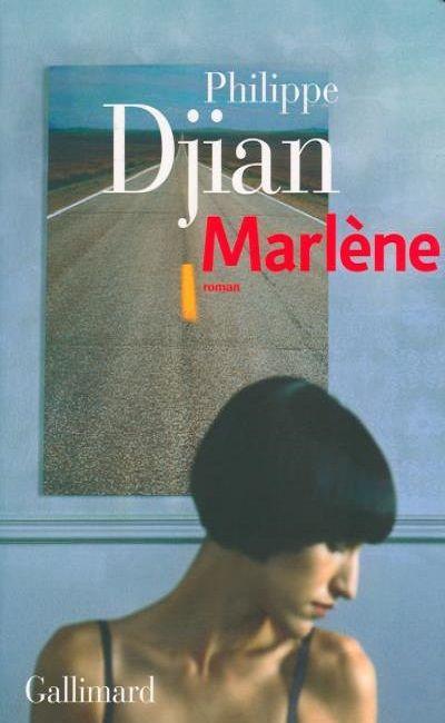 "Couverture ""Marlène"" Gallimard"
