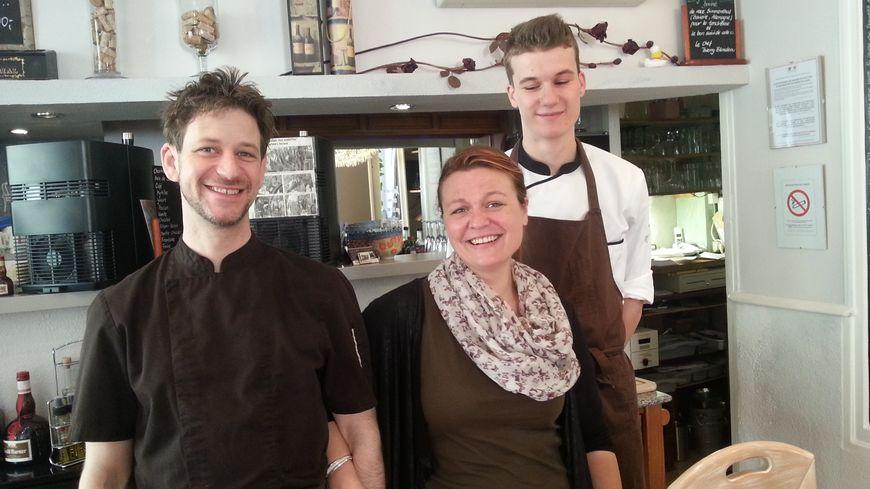 L'équipe du restaurant les Alpes à Allevard les bains