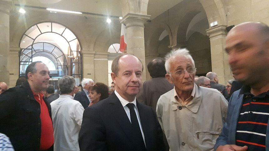 Jean-Jacques Urvoas, garde des sceaux et député du Finistère, appelle à voter pour Emmanuel Macron