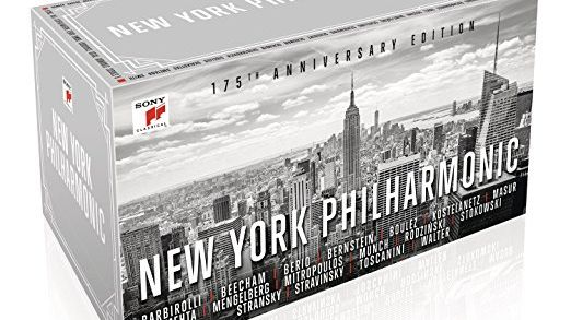 Coffret New York Philharmonic 175e anniversary (2/5)