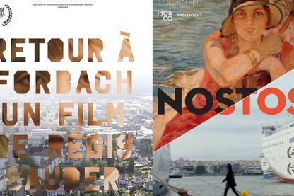 """Affiche de """"Retour à Forbach"""" de Régis Sauder, et de Nostos de Sandrine Dumas"""