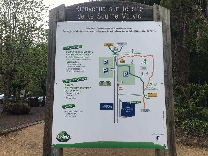 Le site de la Source Volvic à découvrir page 69 dans le guide du Routard du Grand Clermont