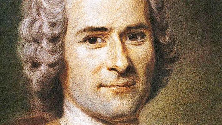 Portrait de Jean-Jacques Rousseau par Quentin de La Tour