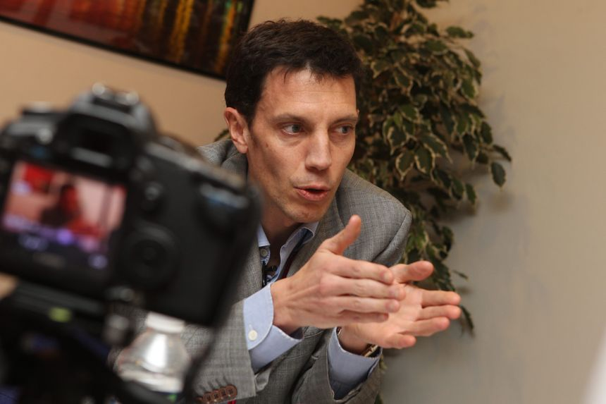 Franck Gervais, le directeur général du site voyages-sncf.com.