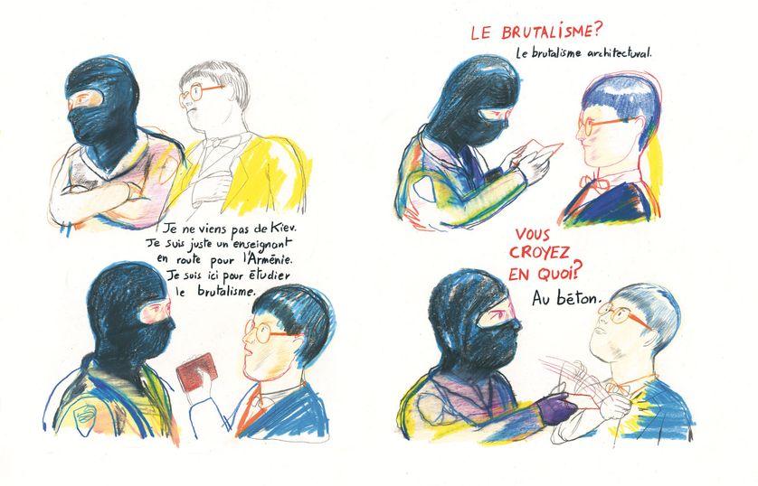 """""""La structure est pourrie, camarade"""" de Yann Kebbi et Viken Berberian"""