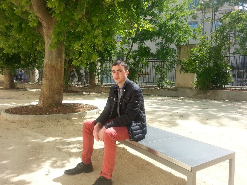 Bastien Freyssinoux, six ans d'engagement socialiste, aujourd'hui responsable des MJS pour l'Hérault.