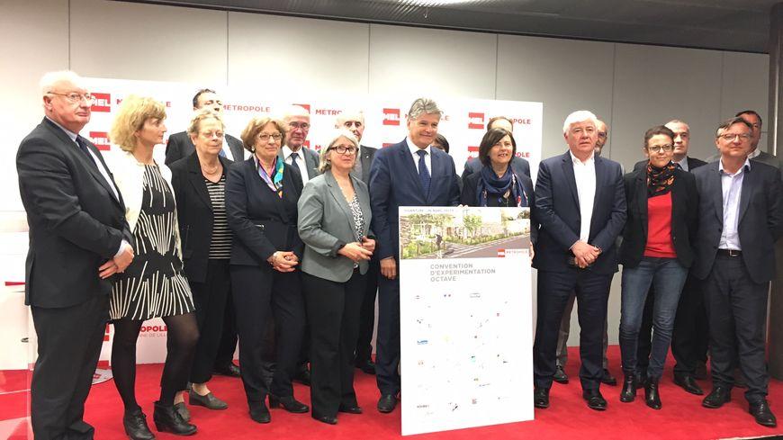 """La Métropole européenne de Lille et ses partenaires ont signé une convention d'expérimentation autour de ce projet """"Octave"""""""