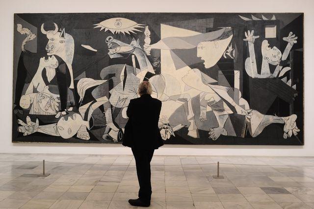 """Exposition """"Pitié et Terreur, le chemin vers Guernica"""" au Musée Reina Sofia à Madrid"""