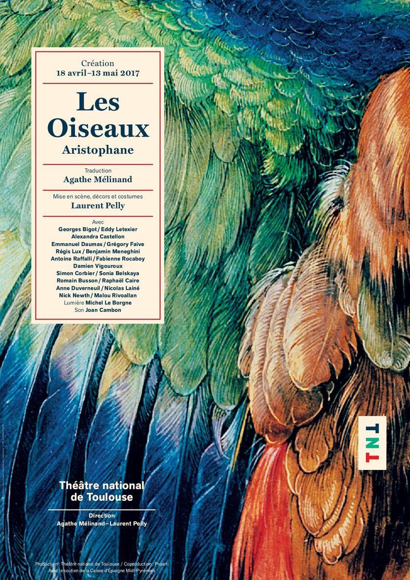"""Affiche du spectacle """"Les oiseaux"""""""