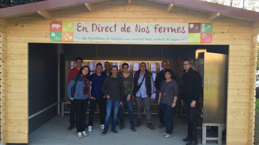 Un Distributeur Automatique De Fruits Et Legumes A Avignon