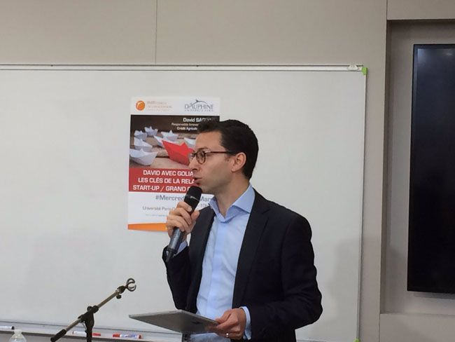 David SARDAS, Responsable Innovation et Digital, Crédit Agricole Assurances