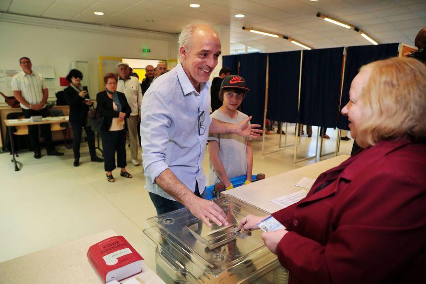 """Philippe Poutou : """"A voté"""""""