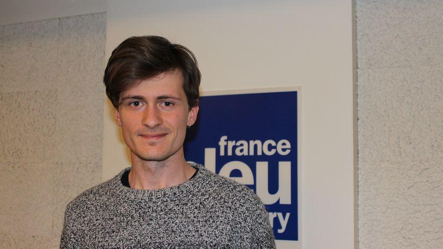 Diego Gernais, jeune Berrichon finaliste du concours de Thomas Pesquet