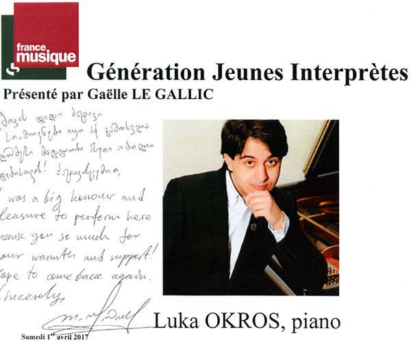 Livre d'Or Luka Okros