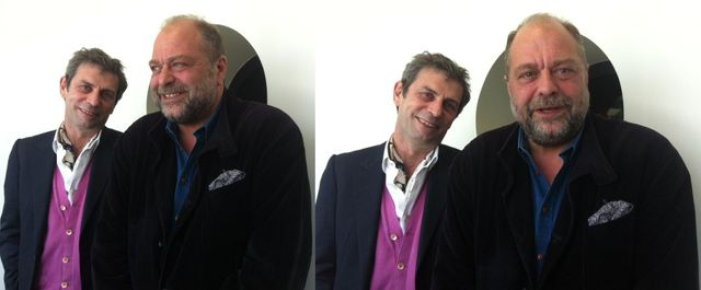Frédéric Taddéi et Eric Dupond-Moretti