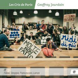 IT, Filider, Stroppa, Francesconi, Lanza des Cris de Paris, dirigés par Geoffroy Jourdain