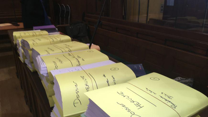 Le volumineux dossier des avocats de Francis Heaulme qui le défendent dans le dossier du double meurtre de Montigny les Metz