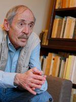 Jean-Luc Bénoziglio , en Mars 2013, chez lui à Paris
