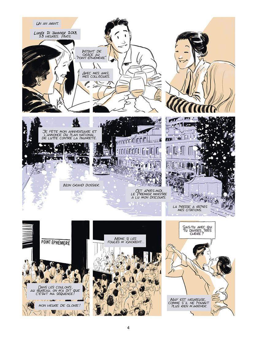 """Planche de """"Désintégration"""" de Matthieu Angotti et Robin Recht"""