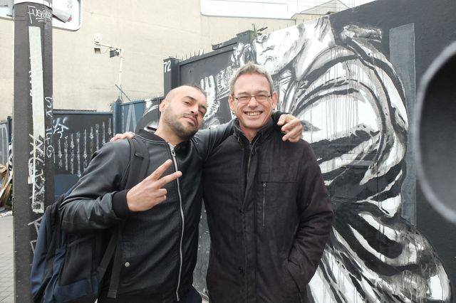 Mohammed et Laurent Bazin