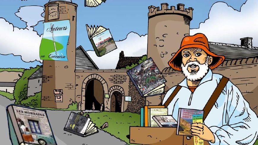 """""""Un château à la page"""" au château du Rozel dans la Manche avec France Bleu Cotentin"""