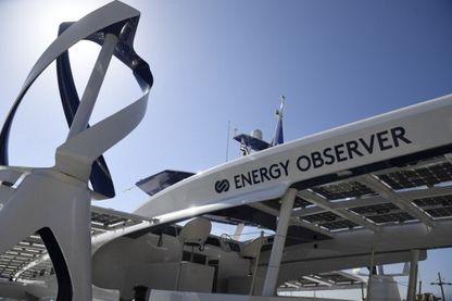 Le bateau Energy observer fabrique une partie de son énergie grâce à l'hydrogène