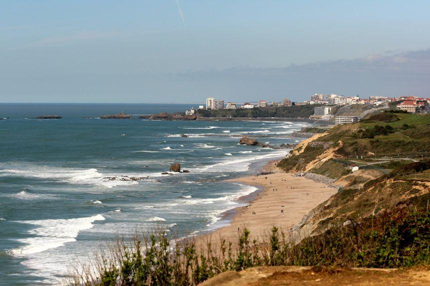 Le littoral, de Bidart à Biarritz