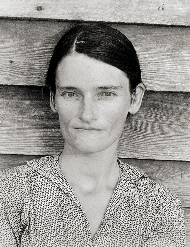 Épouse d'un métayer cultivant le coton, Comté de Hale, Alabama, 1936