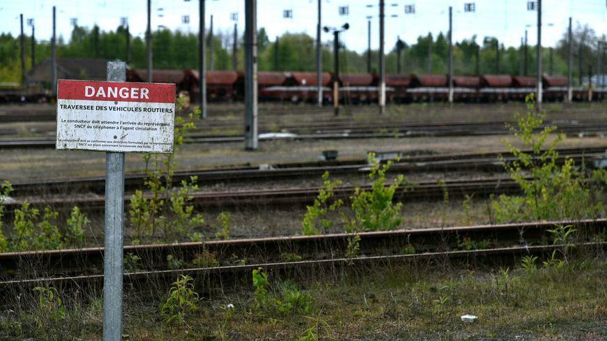 La gare de triage de Bachant où l'adolescent est mort électrocuté