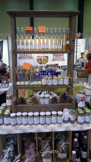 Dorothée est aussi sur les marchés avec son stand