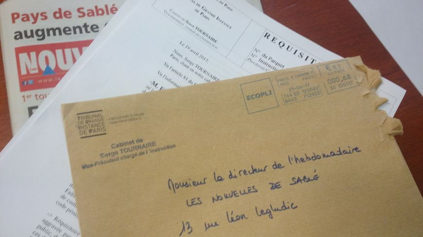 C'est par un banal courrier sans accusé de réception que la demande du juge Tournaire a été transmise à nos confrères