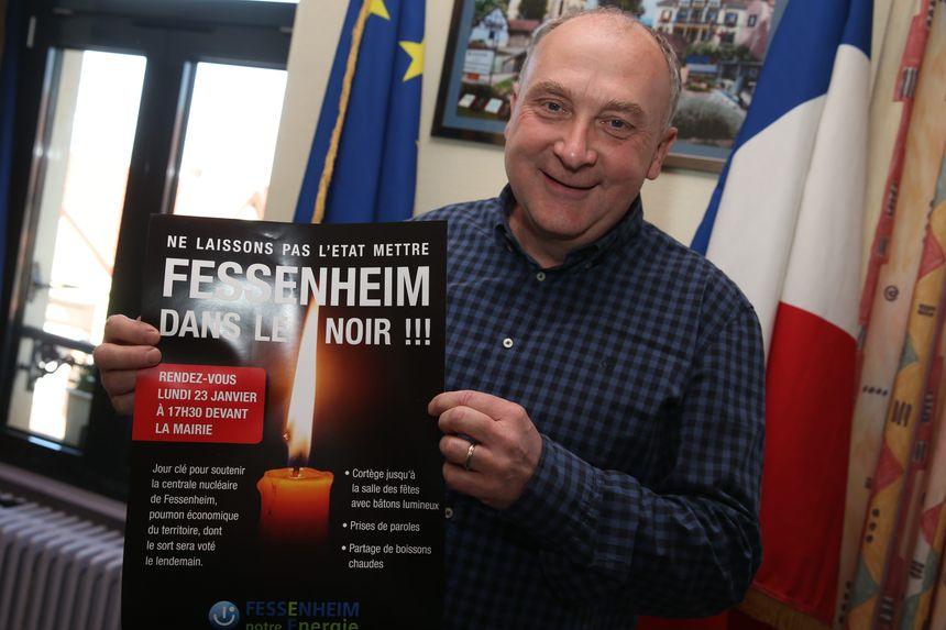 Claude Brender, le maire de Fessenheim votera blanc pour le second tour