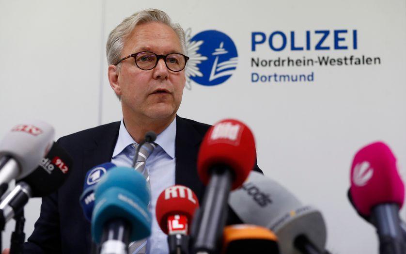 Gregor Lange, le chef de la police à Dortmund, en Allemagne