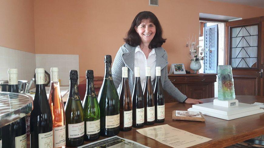 Véronique Dietrich est à la tête du domaine Dietrich-Girardot depuis treize ans.