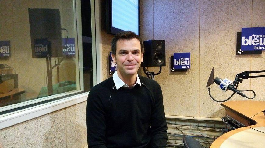 Olivier Véran ce matin dans les studios de France Bleu