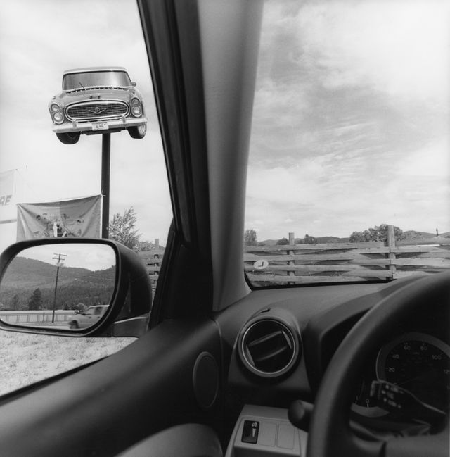 Lee Friedlander, California. Série America by Car, 2008