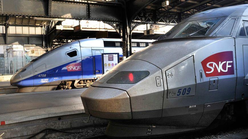 Les TGV accusent environ deux heures de retard à la gare Montparnasse ce mardi.